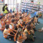 3J visit to Burnt Oak Library